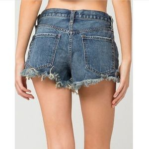 Free People Shorts - Free people Jean shorts